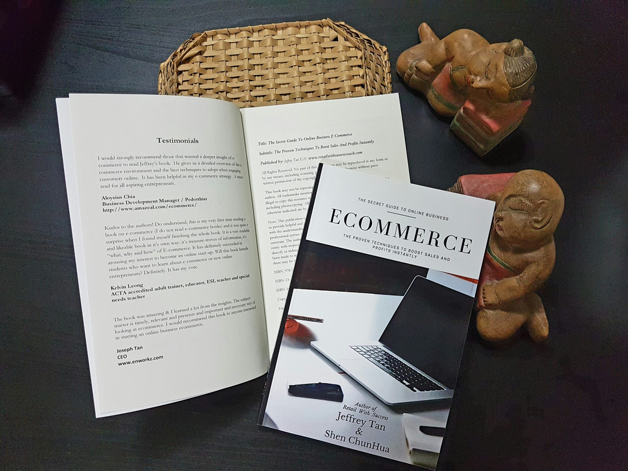 Ecommerce book by AMG Concept Pte Ltd